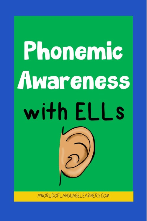 phonemic awareness with ELLs