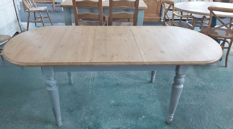 X-Wide F/&B Painted 5ft Rustic Reclaimed Old Pine Dining Plank Table Chair BENCH