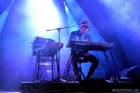 James Blake - Main stage - Paredes de Coura Festival 2014