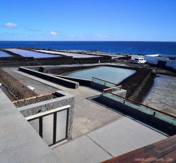 Jardin de la Sal restaurant. Fuencaliente salt mines, La Palma