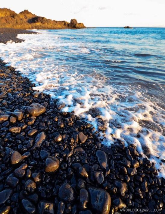 Echentive beach, La Palma