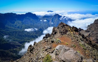 No shortage of pretty landscapes near Roque de los Muchachos, La Palma.