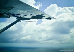 Seaplane flight over Galle, Sri Lanka