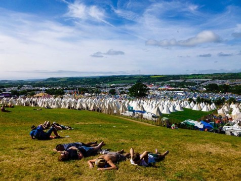 Glastonbury by Global Help Swap- The Coolest Festivals in Europe - A World to Travel