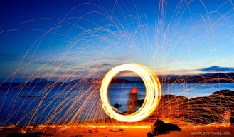 Steel wool phography tutorial - A World to Travel-1