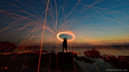 Steel wool phography tutorial - A World to Travel-17
