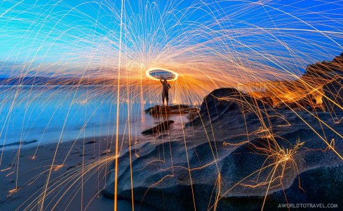 Steel wool phography tutorial - A World to Travel-18