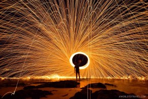 Steel wool phography tutorial-A World to Travel-6