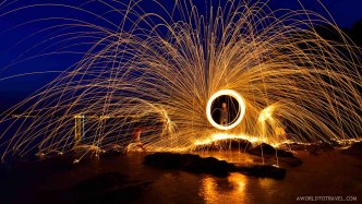 Steel wool phography tutorial- A World to Travel-9