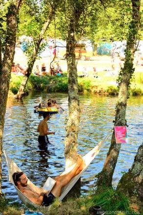 Vodafone Paredes de Coura 2015 music festival - Taboao river beach - A World to Travel-28