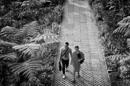 Thanks for reminding us not to forget the small pleasures of life. Here's to walking! In Dusun Bambu, Java.