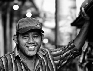 Yogyakarta's street vendor.