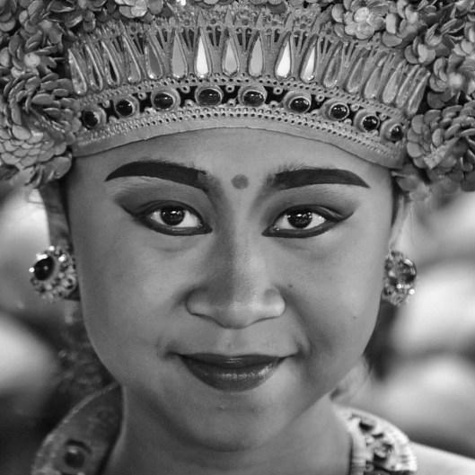 Spotted her in Bebek Tepi Sawah Ubud Bali.