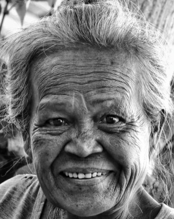 Woman in Malioboro, one of the most busy streets of Yogyakarta, aka Jogja.