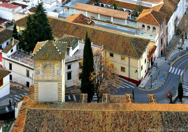 Granada from above.