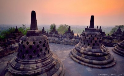 Borobudur Temple - Java Island - Indonesia - A World to Travel-2