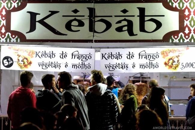 Food Scene at Vodafone Paredes de Coura Festival 2016 - A World to Travel (5)