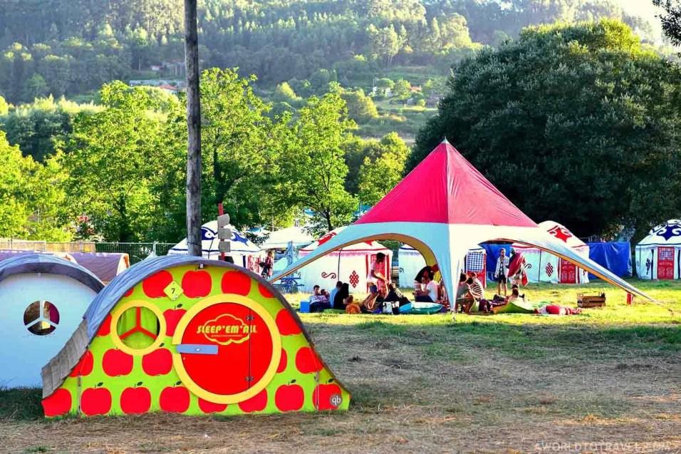 Glamping - Vodafone Paredes de Coura Festival 2016 - A World to Travel (1)