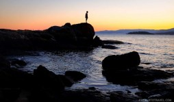 July sunset by the beach in Galicia - A World to Travel