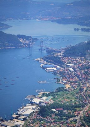 Flying over Vigo - Galician Getaway - Vigo Experiences Worth Living - A World to Travel (7)