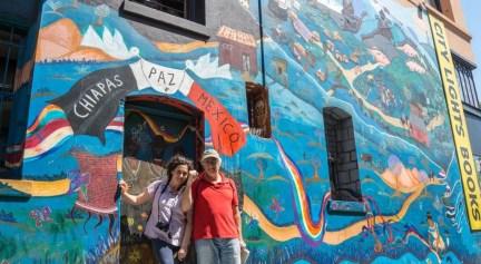 Chiapas Paz Mexico Street Art Mural - Razones que te harán volver a San Francisco - A World to Travel