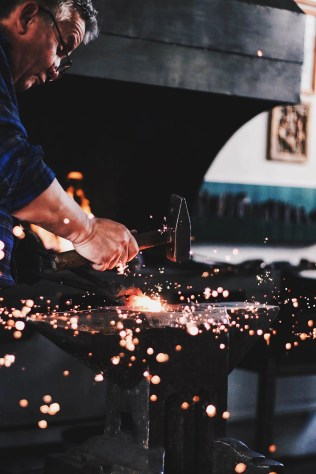 Blacksmith - Visit Covasna County A Stunning Land of Mansions in the Romanian Transylvania - A World to Travel