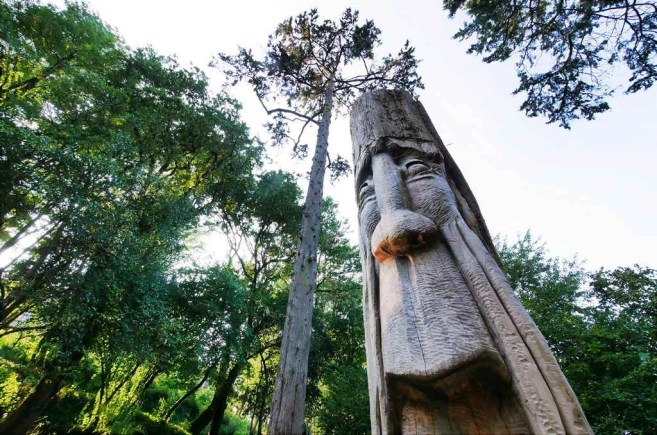 Escultura de la Finca Briz, Marin