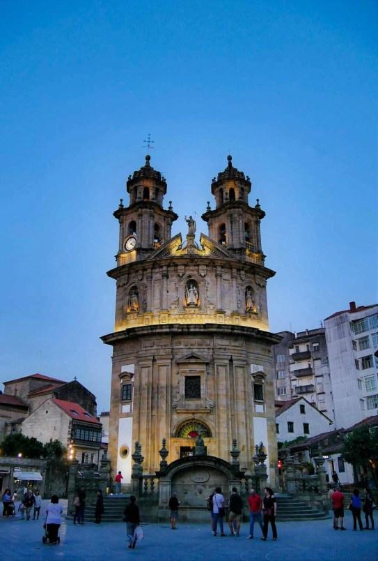 Peregrina Herreria square - Pontevedra - A World to Travel