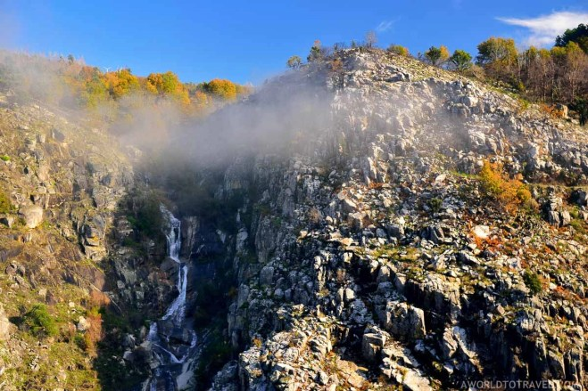 Aguieiras Waterfall - Arouca - Montanhas Magicas Road Trip - Portugal - A World to Travel