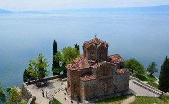 Ohrid St Joan Kaneo - Macedonia Travel Guide - A World to Travel