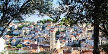 Hvar skyline - 10 Day Croatia Itinerary From Dubrovnik to Zagreb - A World to Travel