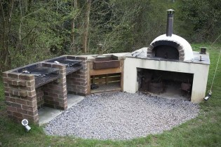 Communal area 3 - South Wales Glamping Hidden Valley Yurts Review - A World to Travel