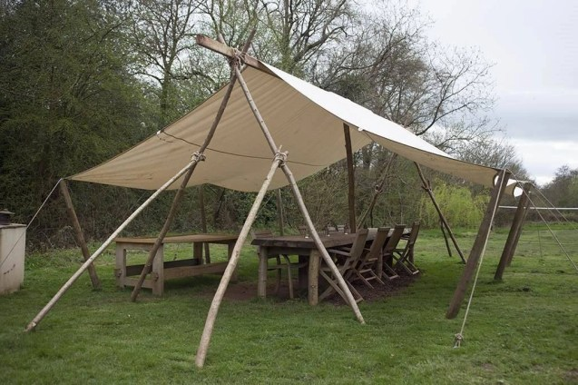 communial area 2 - South Wales Glamping Hidden Valley Yurts Review - A World to Travel