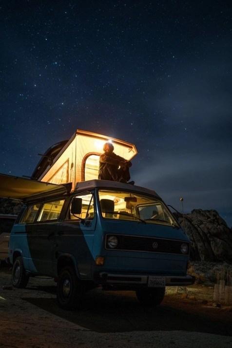 A million stars hotel - Campervan trip tips and tricks