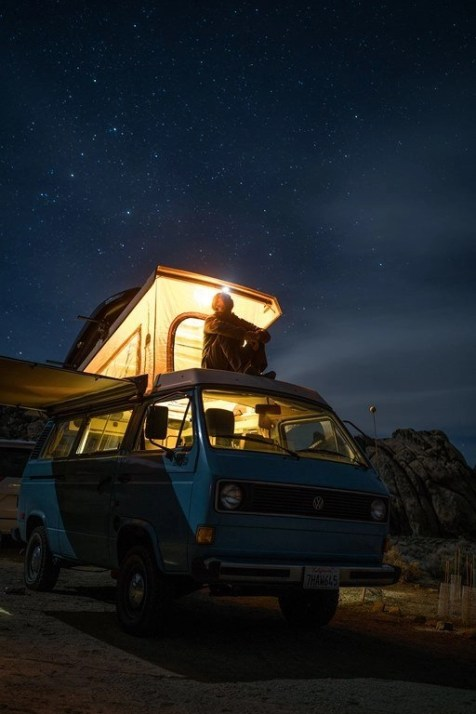 A million stars hotel - Campervan trip tips and tricks
