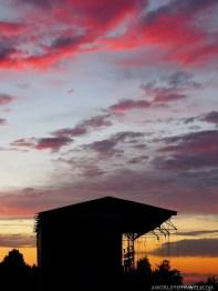 Sunset at O Son do Camiño Festival 2018