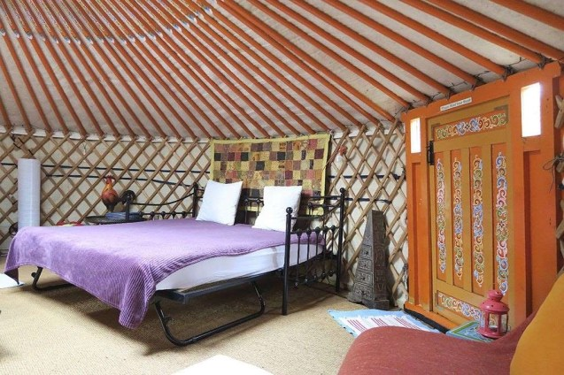 Yurt 1 - South Wales Glamping Hidden Valley Yurts Review - A World to Travel