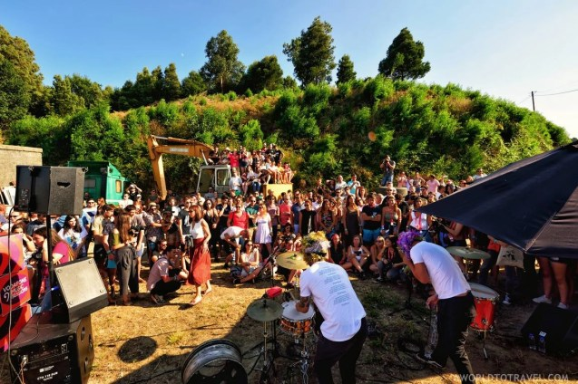 Ninos du Brasil Vodafone Music Sessions - Paredes de Coura festival 2018 - A World to Travel (1)