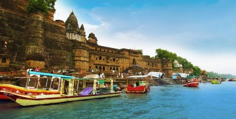 Maheshwar fort - Madhya Pradesh Travel Mart - A World to Travel