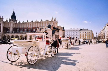 Krakow city center - Holocaust Sites and Jewish Heritage Cities in Poland - A World to Travel