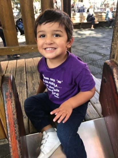 Aarav playing in a park in Rome - Things I Learned After Traveling With An Infant Across The World - A World to Travel