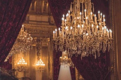 Chandelier - Louvre Museum Paris facts - A World to Travel