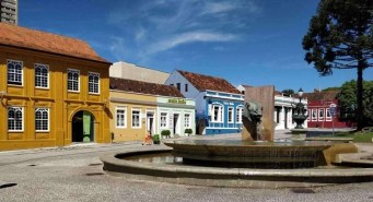 Colourful Buildings and Street Art in Downtown Curitiba (1) - Here's How To Road Trip 5 Brazilian Cities In Two Weeks - A World to Travel