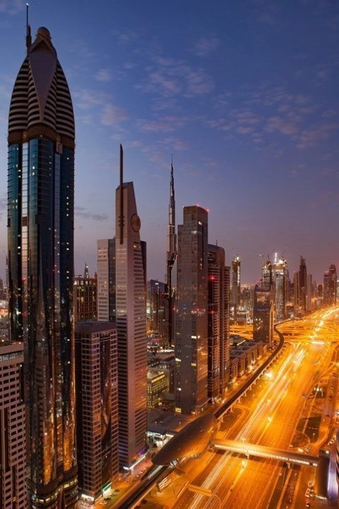 Dubai skyscrappers - Fun Activities In Dubai Worth Checking Out - A World to Travel
