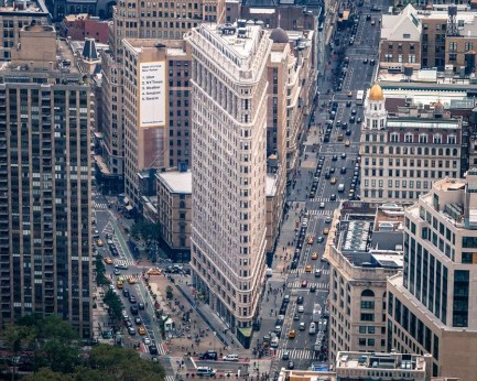 Flatiron from above - Perfect 2 Days In New York Itinerary For First Time Visitors - A World to Travel