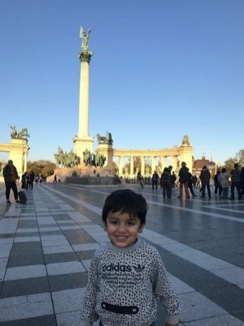 Heroes Square in Budapest - Things I Learned After Traveling With An Infant Across The World - A World to Travel