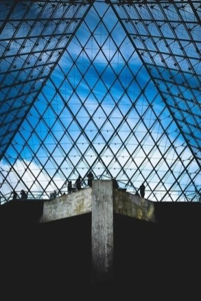 Ieoh Ming Pei pyramid - Louvre Museum Paris facts - A World to Travel