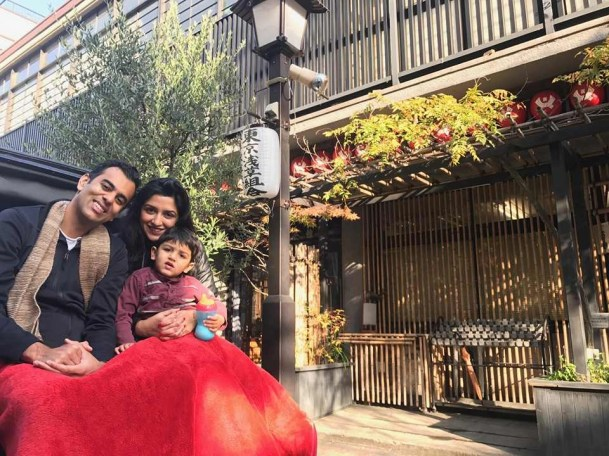 On a rickshaw tour in Tokyo - Things I Learned After Traveling With An Infant Across The World - A World to Travel