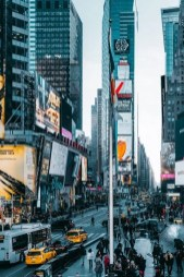 Times Square daylight - Perfect 2 Days In New York Itinerary For First Time Visitors - A World to Travel