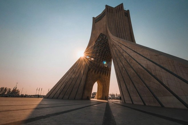 Azadi Tower - Tehran - Iran - Silk Road Travel - A Central Asia Overland Trip - A World to Travel